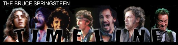 The Bruce Springsteen Timeline